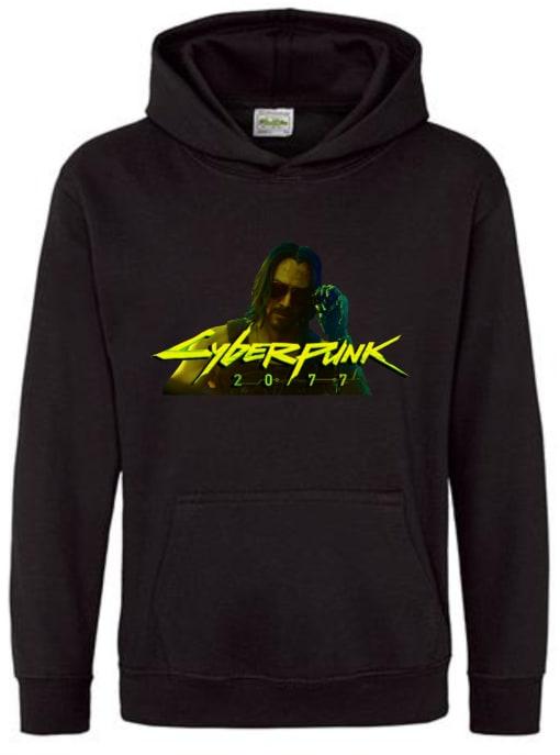 Keanu Reeves Cyberpunk 2077 Hoodie