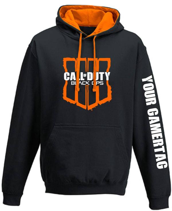 Call of Duty Black Ops 4 Contrast Hoodie (Design 2)