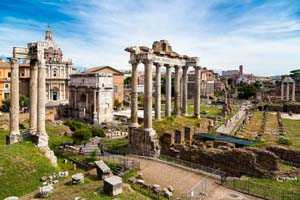 Roman Forum Viewpoint
