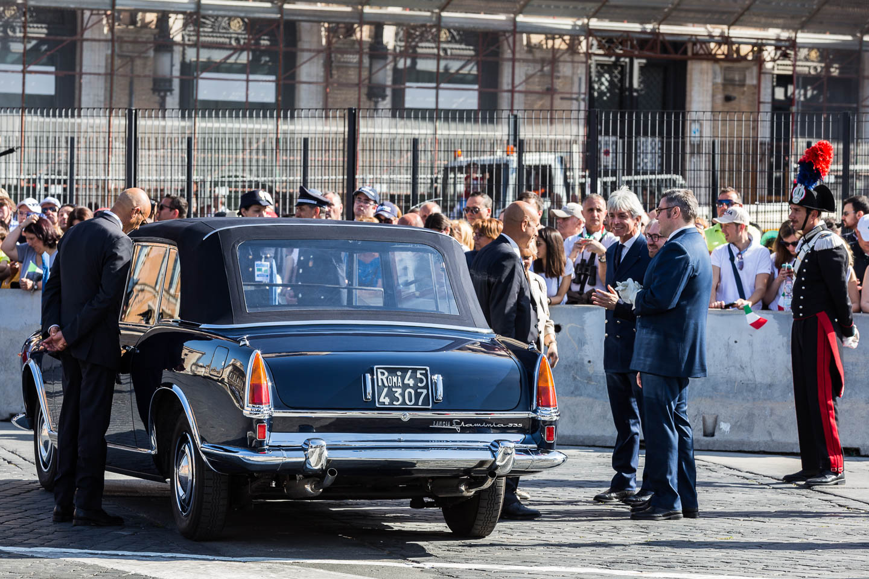 La Lancia Flaminia tipo 335, conosciuta anche come Lancia Flaminia presidenziale