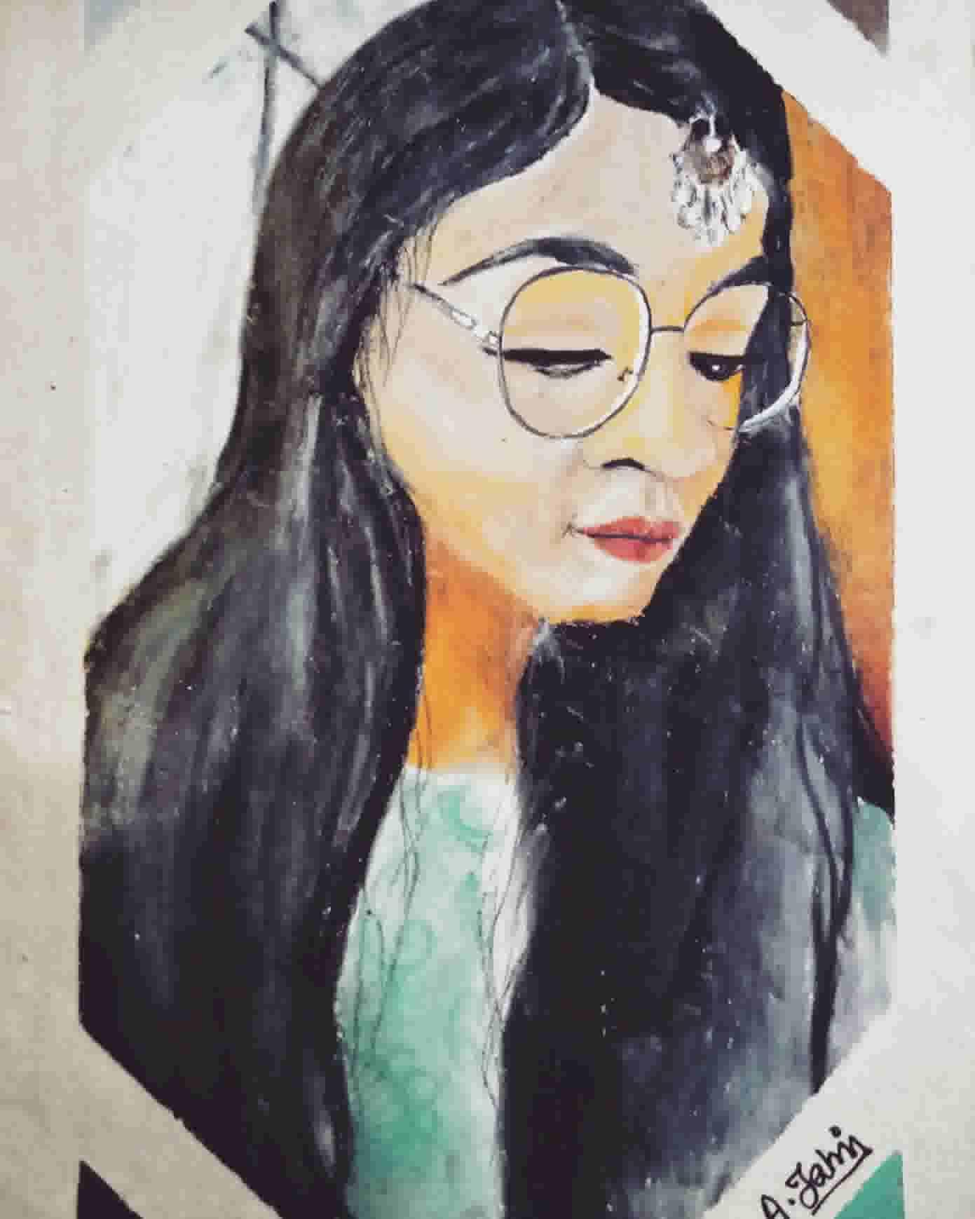 Portrait Of Rifaa Tasniya's Featured Photo