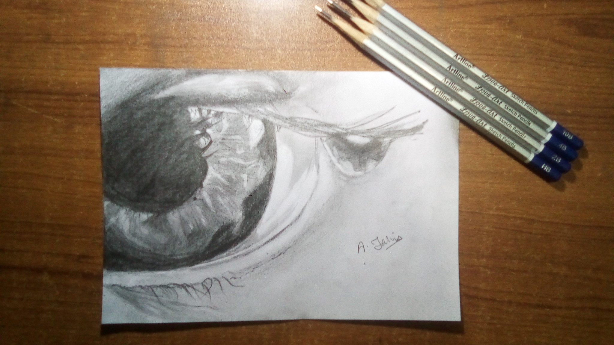 Macro Eye Sketch | 2HAAS | Draw Your Imagination's Featured Photo