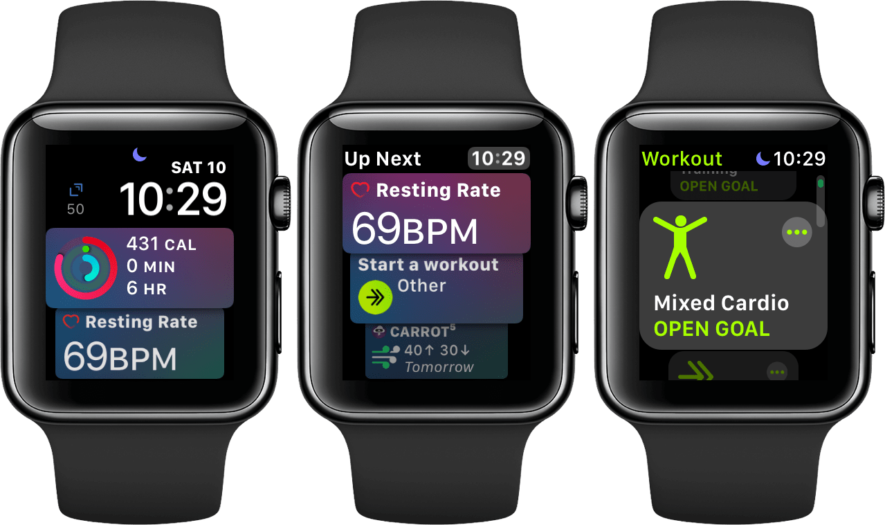 Exercising with Apple Watch: Update