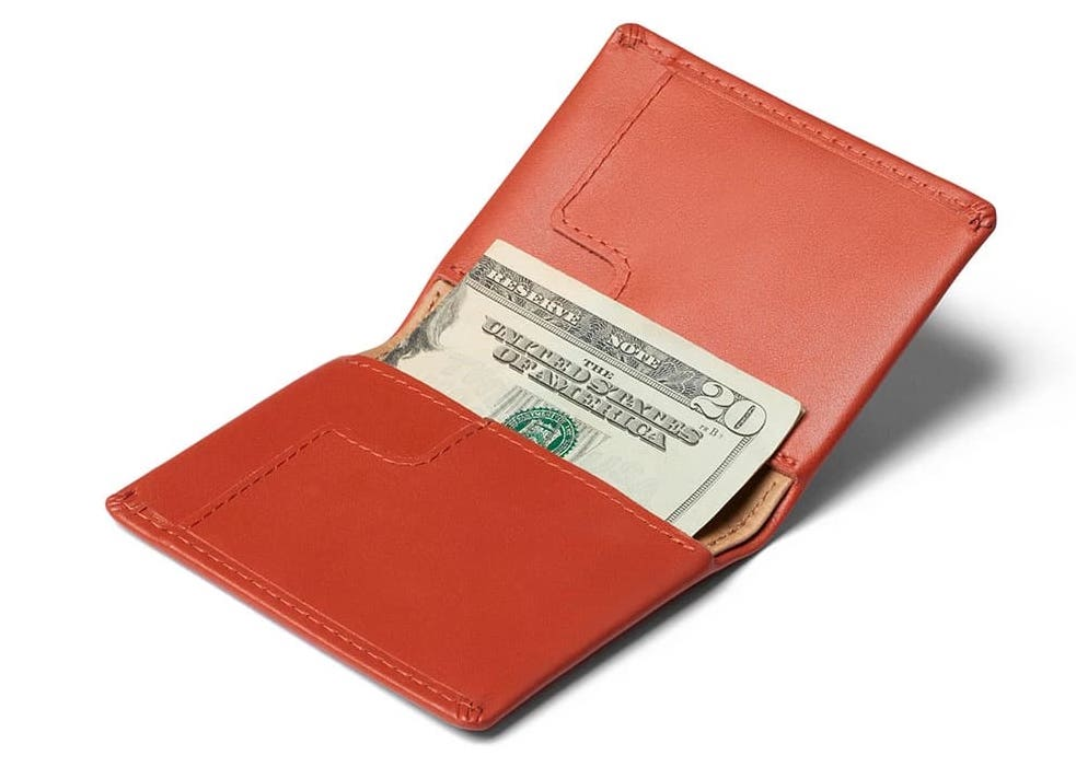 Picked Up the Bellroy Tangelo Slim Sleeve Wallet