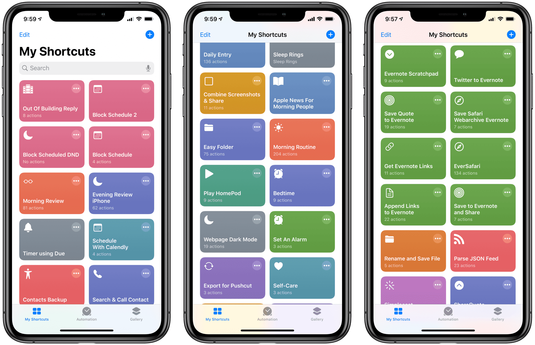 Shortcuts Archive