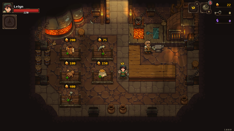 The shop in Undermine