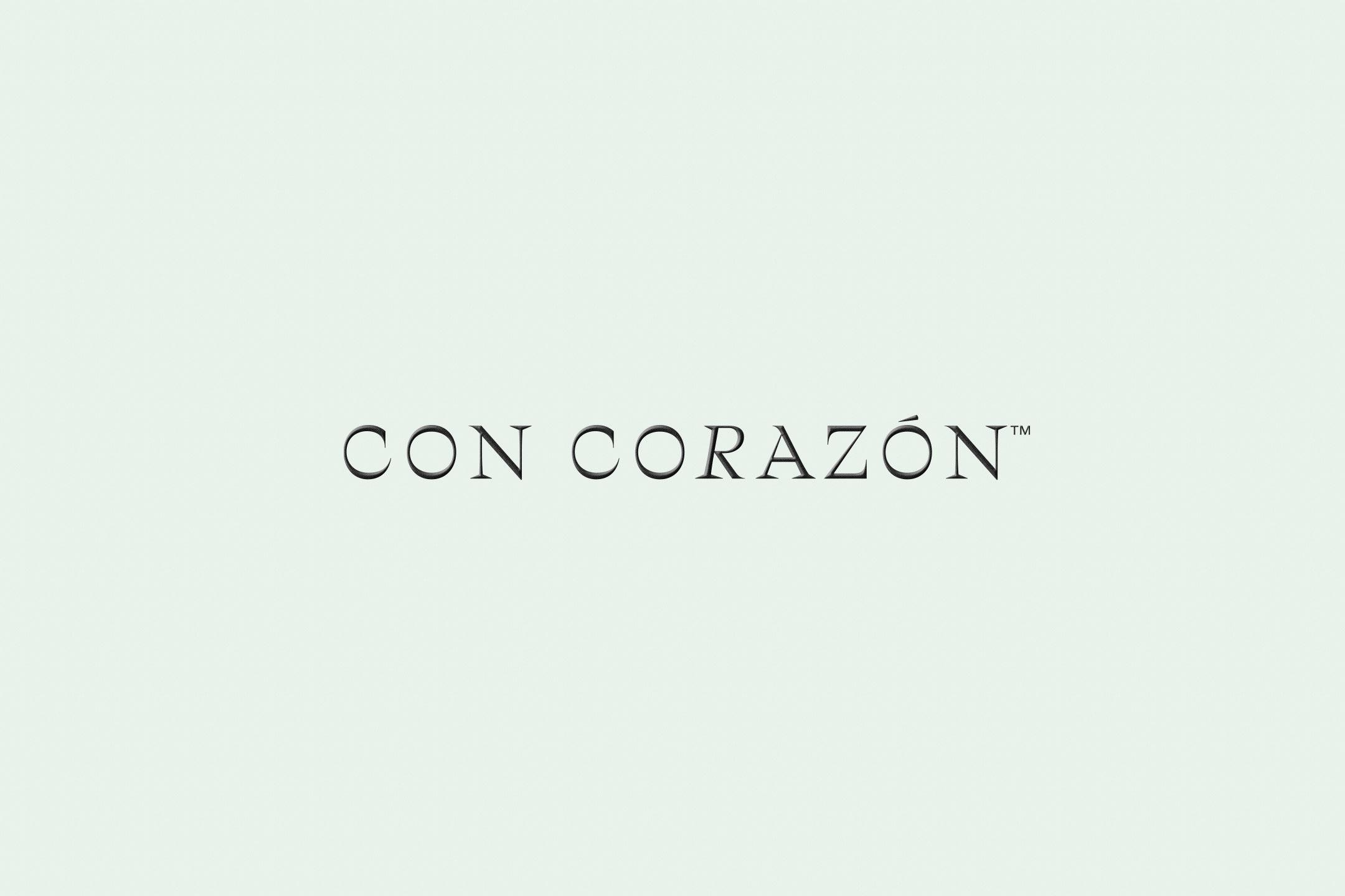 Banner design for Con Corazón
