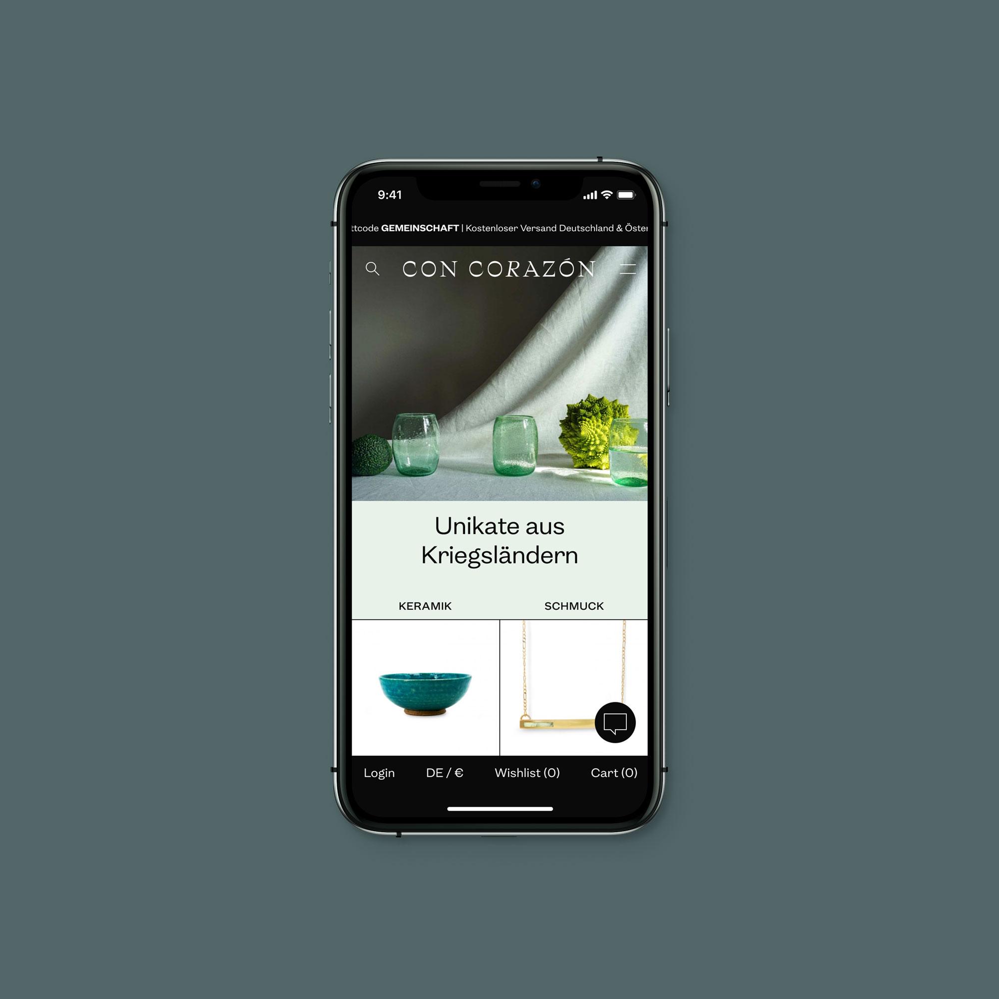Design for an eCommerce shopping app