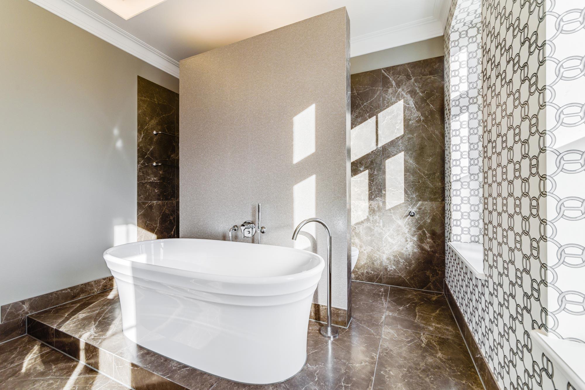 A bathroom created by Eberhard Mueller.