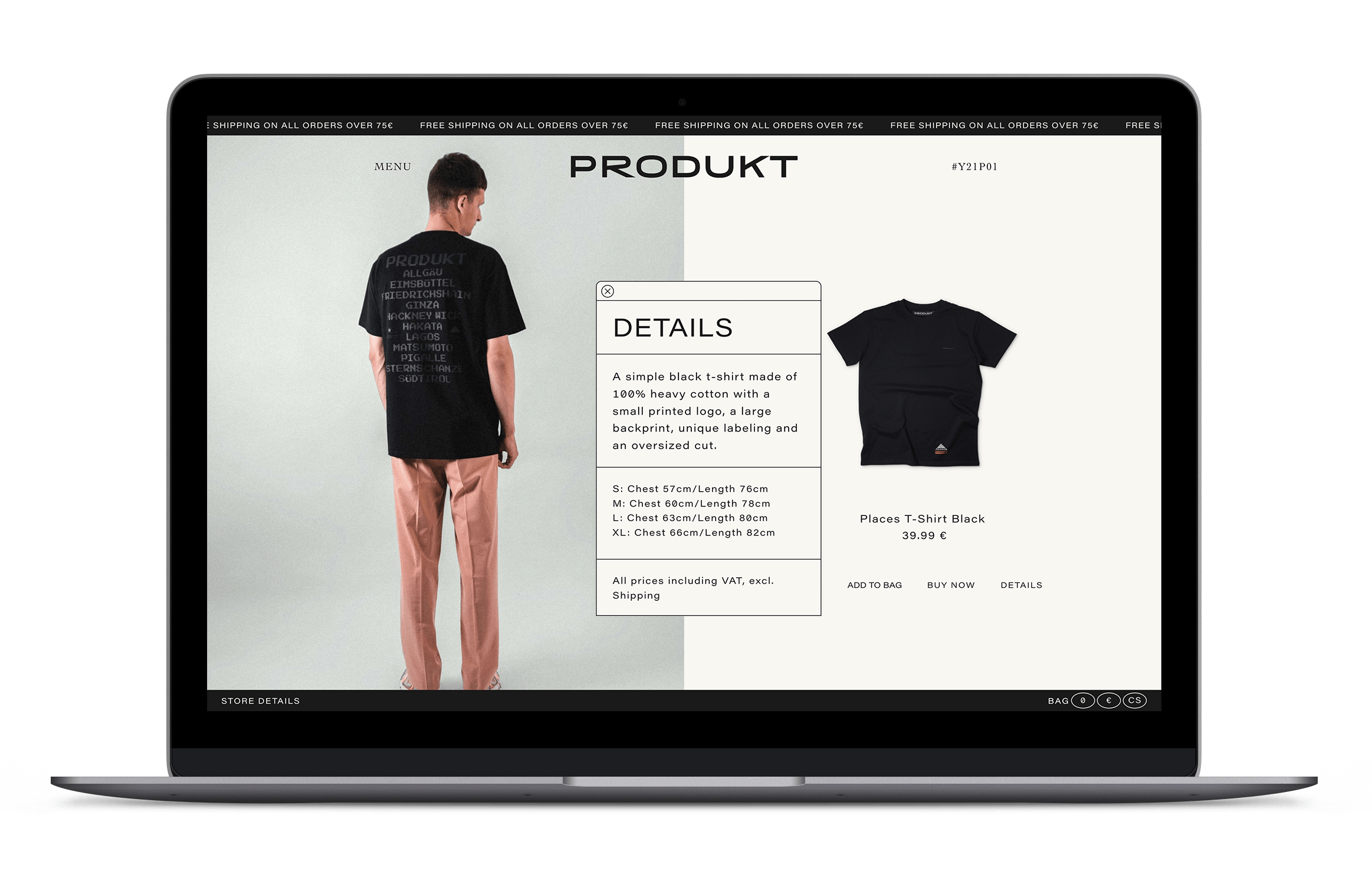 To keep the maintenance cost of our client low, we built the shop around a CMS for easy inventory, administration and expansion.