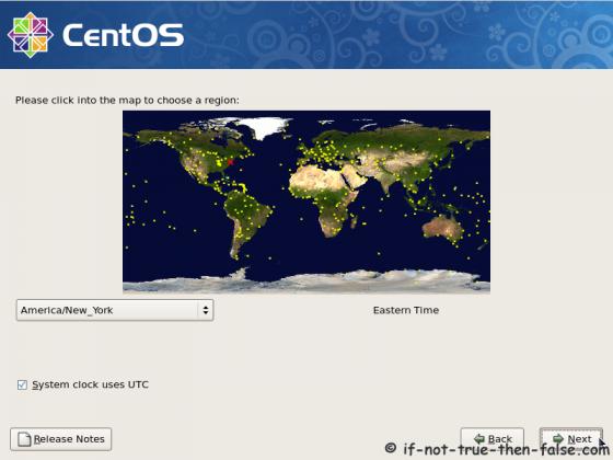 CentOS 5.9 Timezone setup