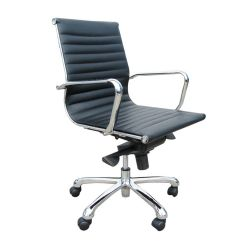 kab controller 24 hour chair in black leather the chairman office