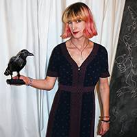 Charlie Jane Anders by Francesca Myman, Locus Publications