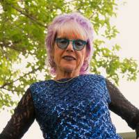 Headshot of Judy Chicago