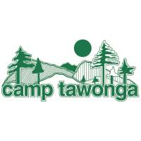 "Camp Tawonga logo: green text reads ""Camp Tawonga"" with a green drawings of a trees above"