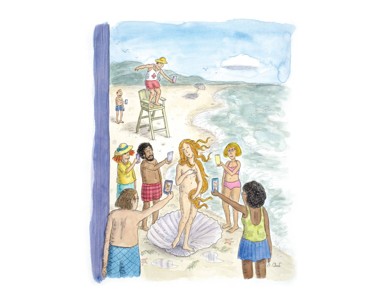 The Birth of Venus ... NYKR cover illustration