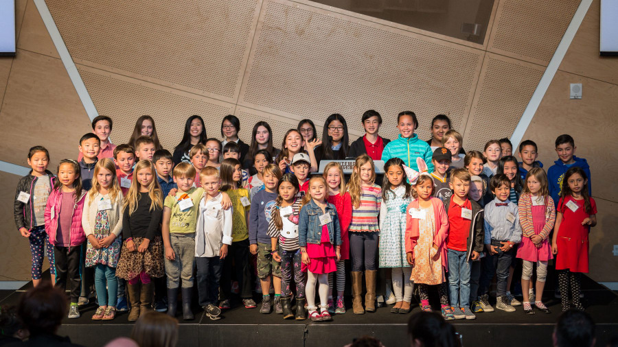 The 2017 Ezra Jack Keats Awards Ceremony at The Contemporary Jewish Museum, San Francisco. Photo by Olivia Smartt.