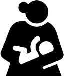 nursing mother icon