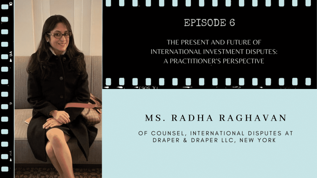 Ms. Radha Raghavan on TCLF One-on-One discusses Arbitration