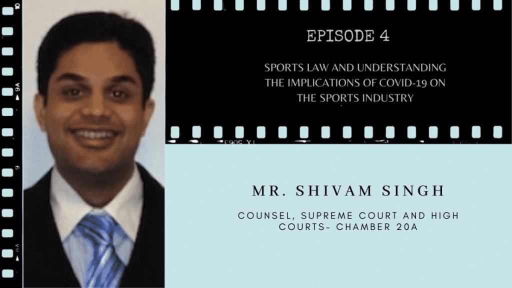 Shivam Singh Sports Law