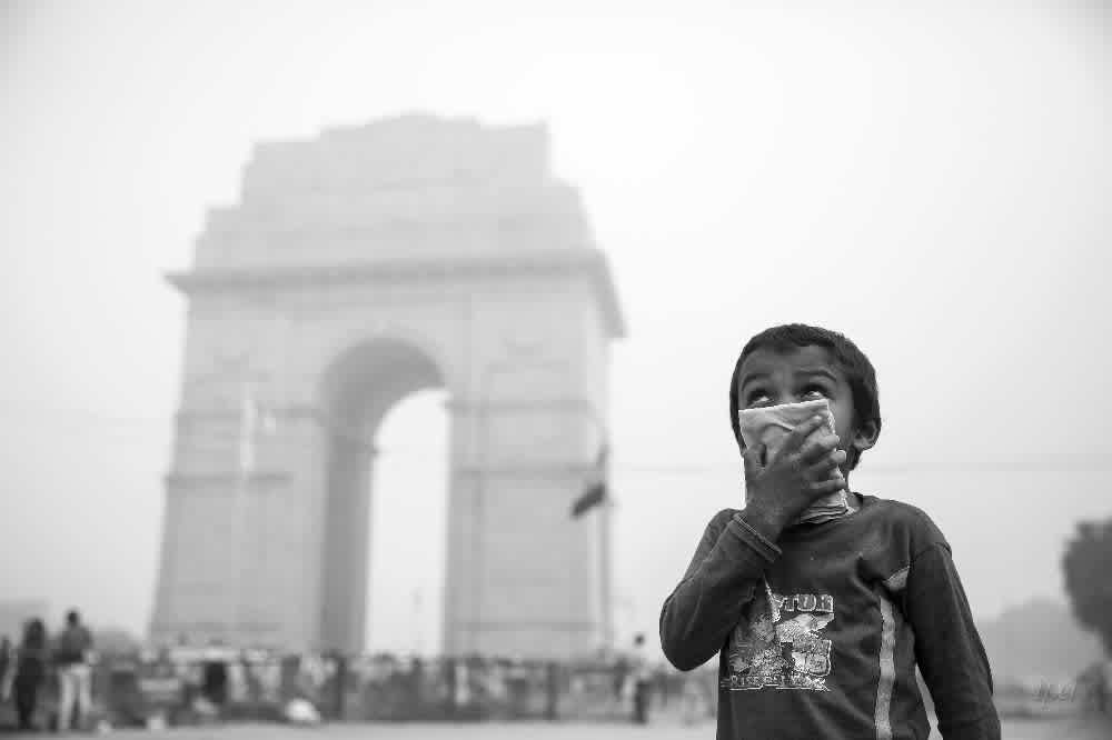 Climate Change Air Pollution Delhi
