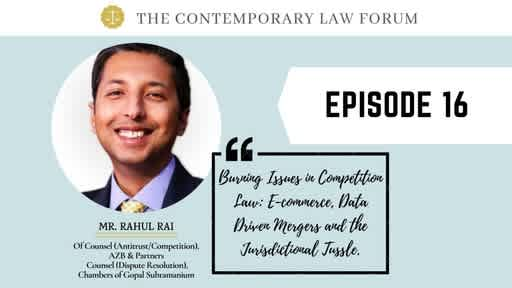 Rahul Rai Competition Law