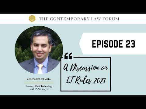 Abhishek Nangia Discussion on IT Rules 2021