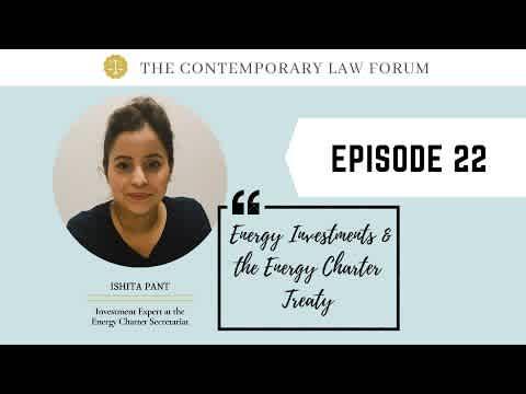 Ishita Pant Energy Investments & The Energy Charter Treaty