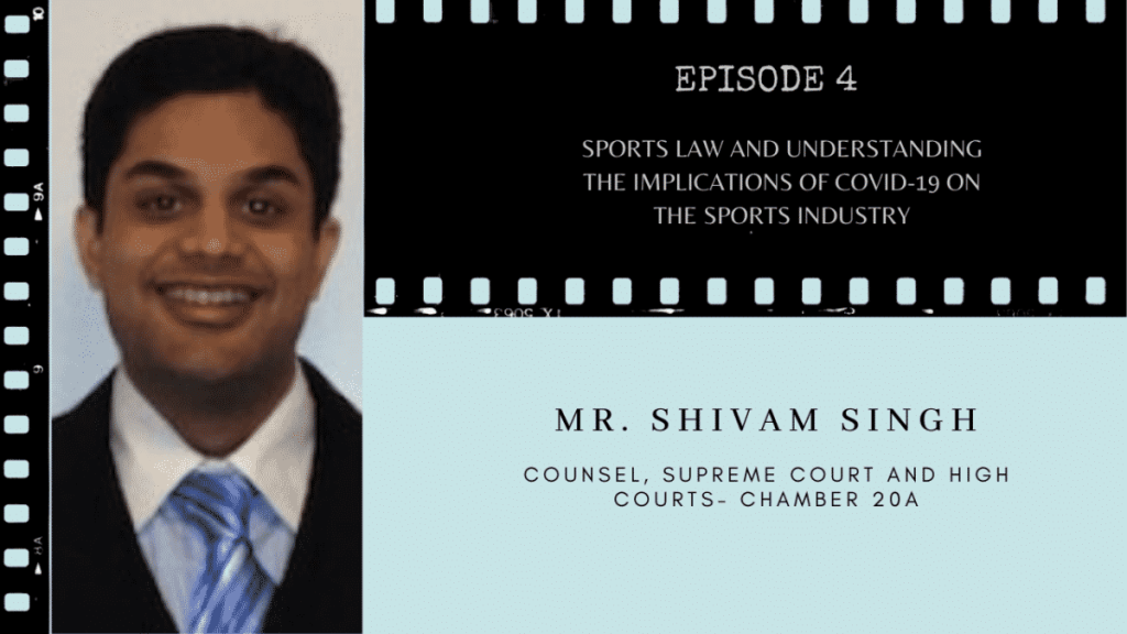 Shivam Singh Sports Law