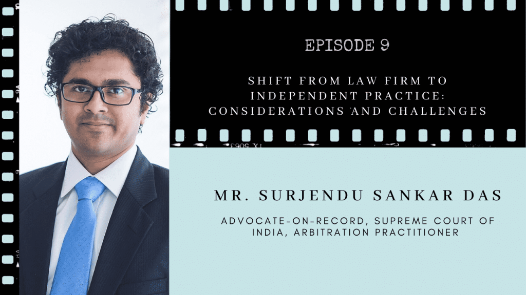 Surjendu Sarkar Law Firms Indedpendent Litigation practise