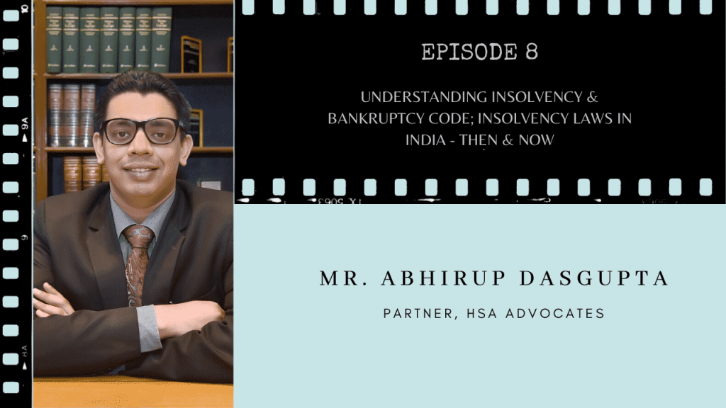Insolvency and Bankruptcy Abhirup Dasgupta