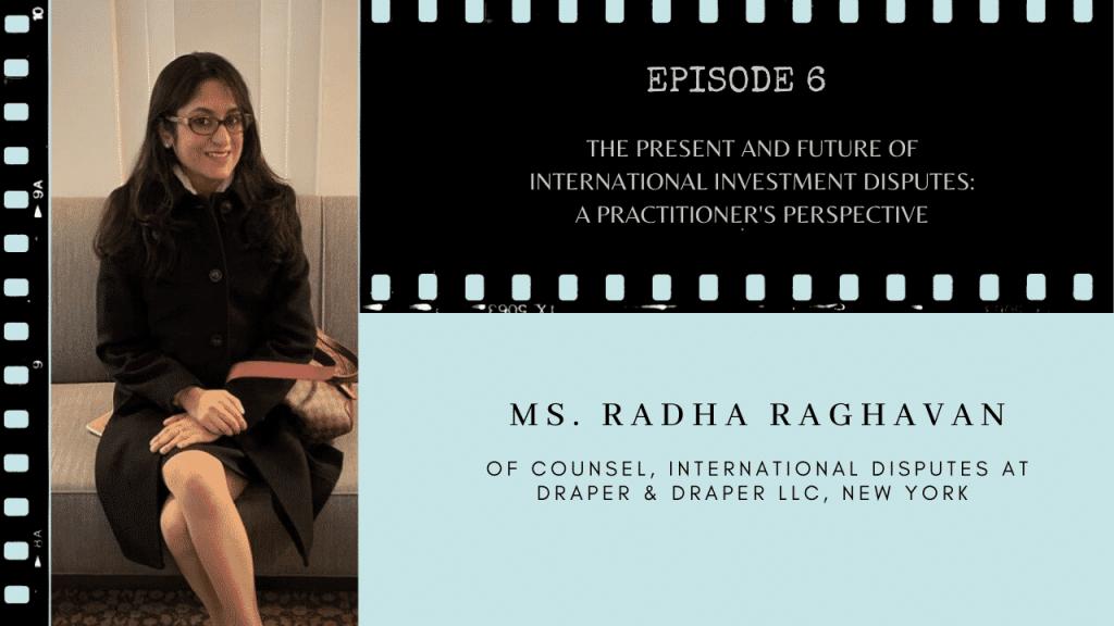 Ms. Radha Raghavan on TCLF One-on-One discusses Arbitration