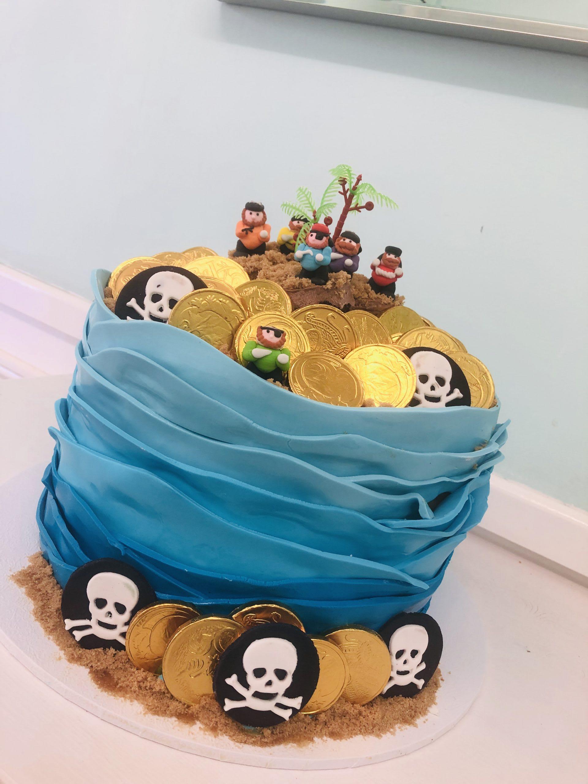Pirate Tower Cake
