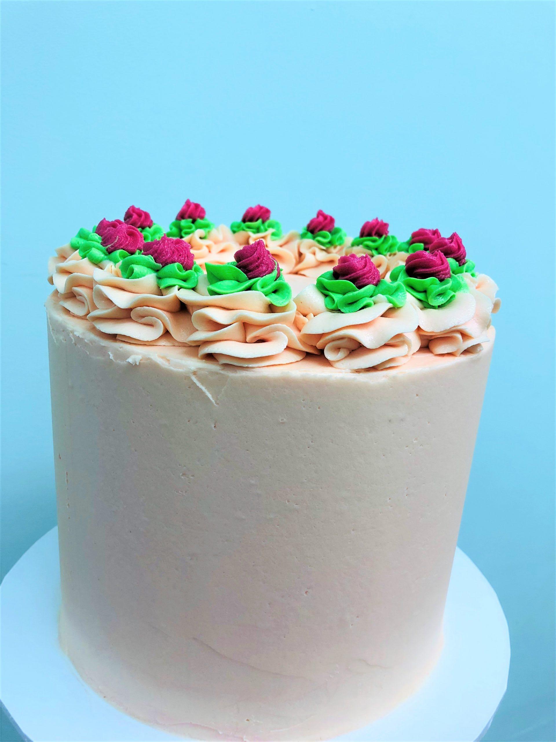 Ring of Roses Cake