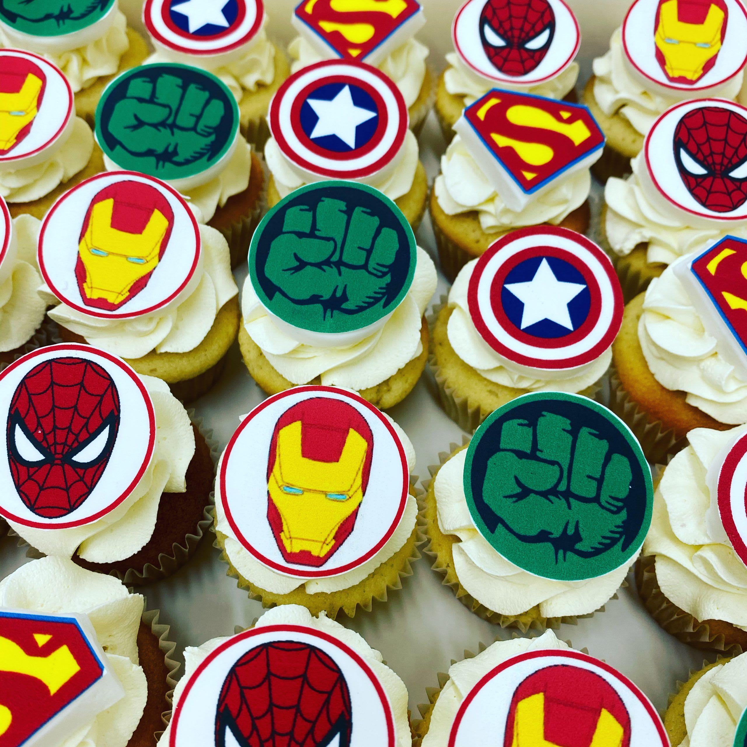 Superheroes Cupcakes sydney