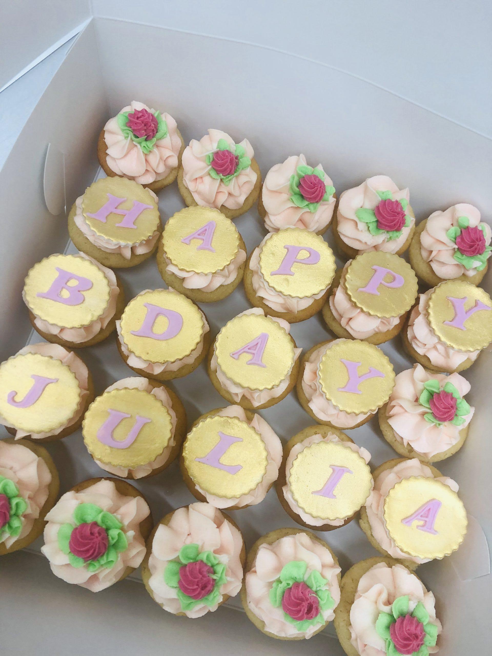 Happy Birthday Cupcakes sydney