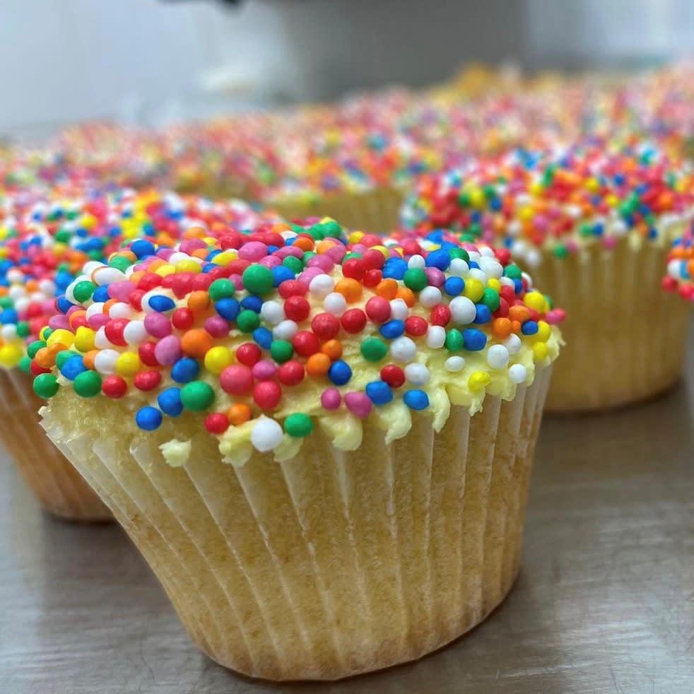Sprinkle Cupcake