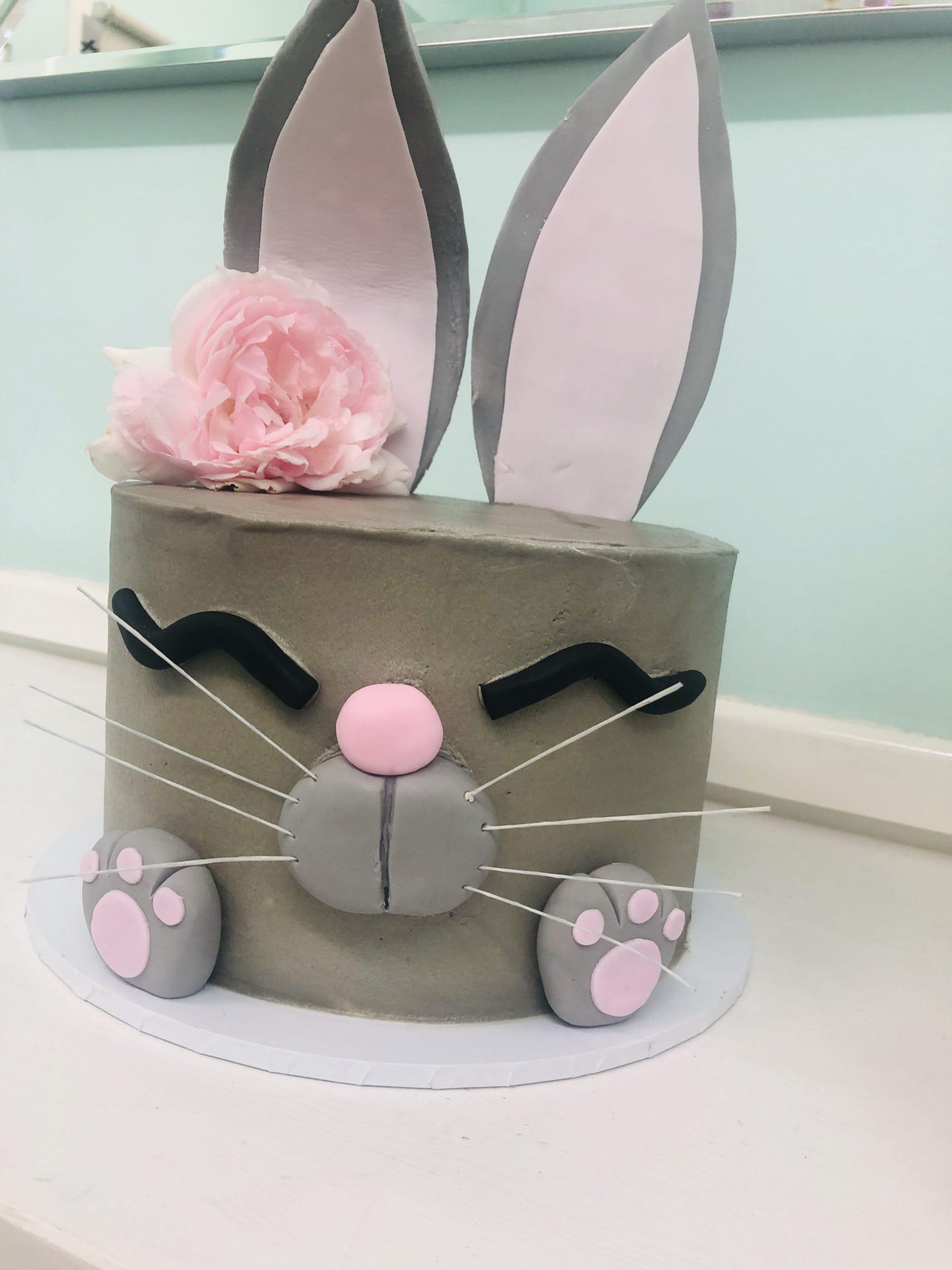 funny bunny cake by the cupcake princess sydney