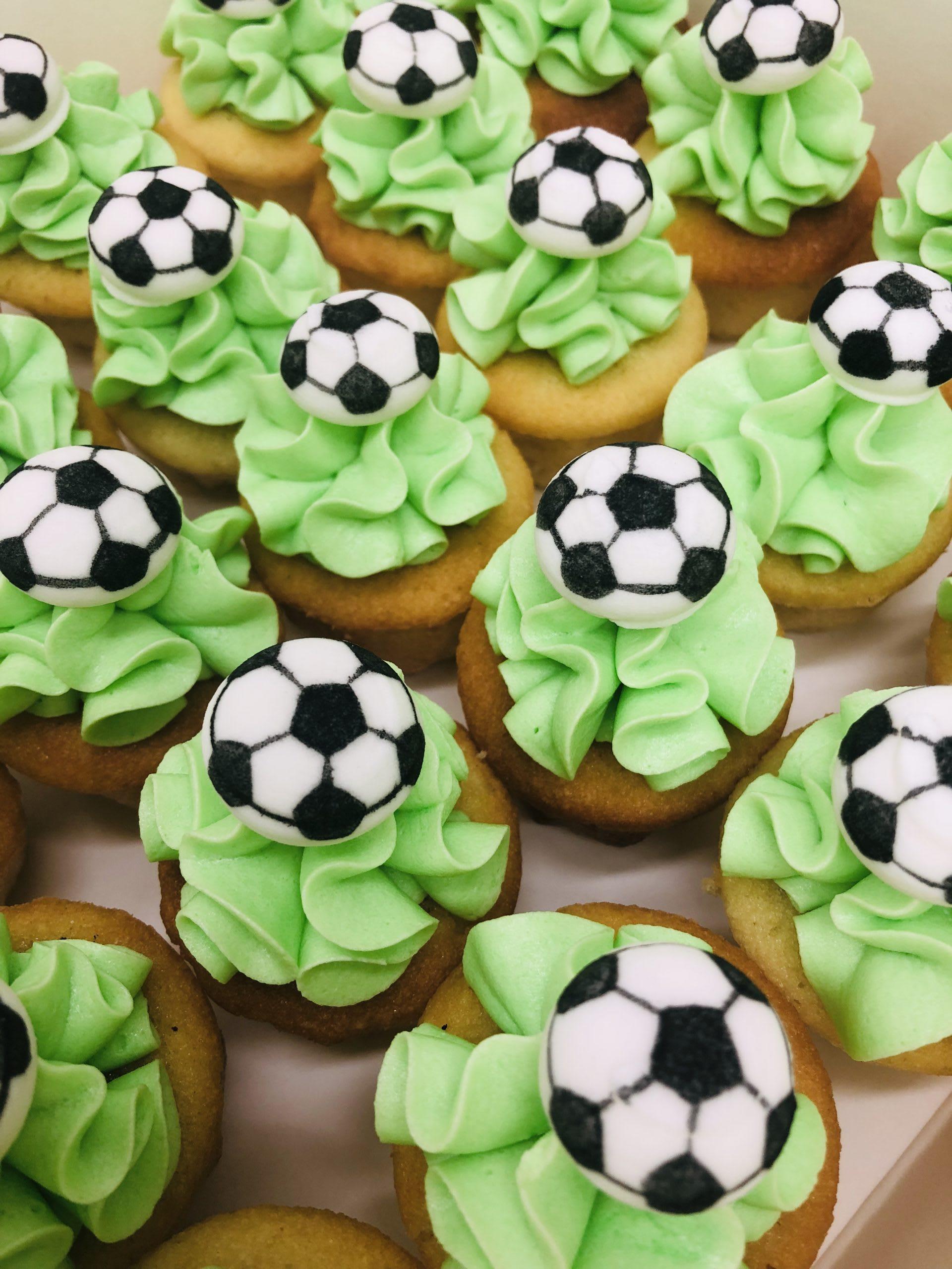 soccer hero cupcakes sydney