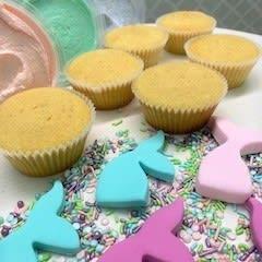 Mermaid Cupcake Decorating Kit