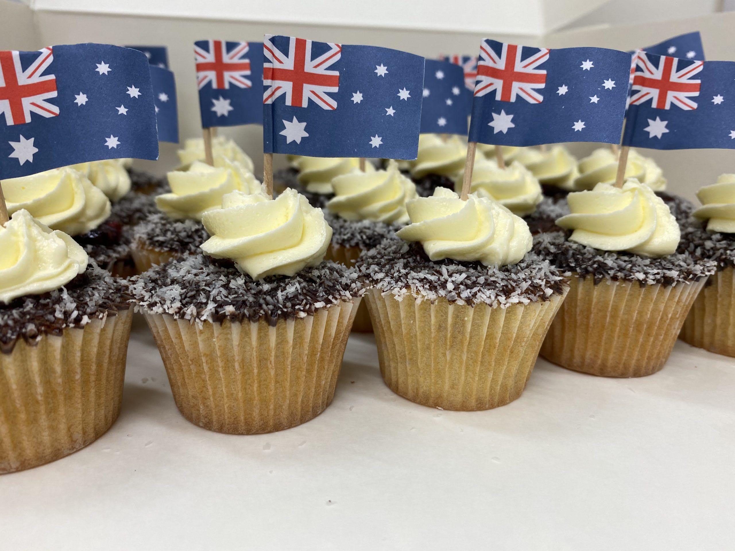 Lamington Cupcakes sydney