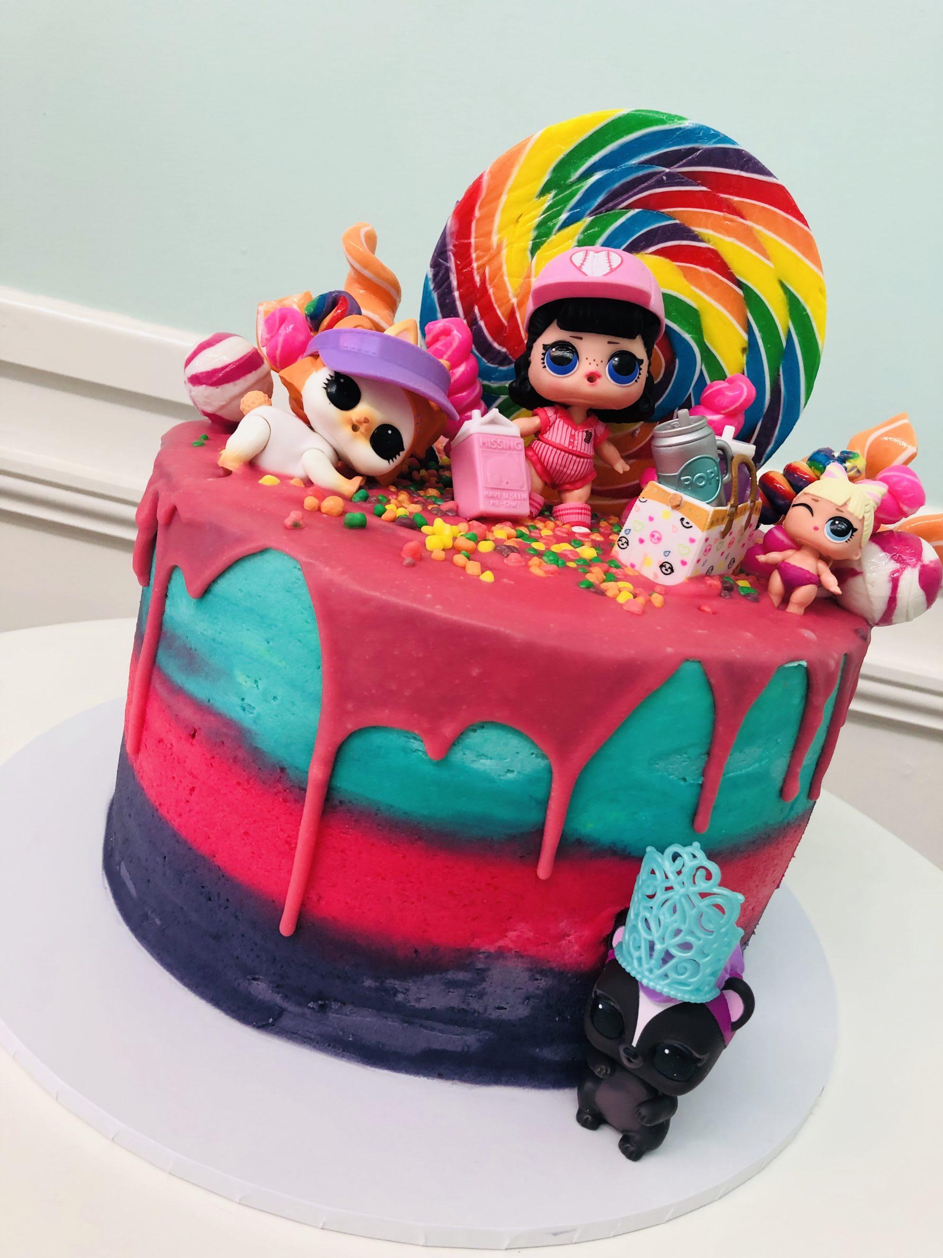 LOL Drip Cake