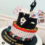 Casino Royal Cake