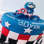 Cpt America Cake