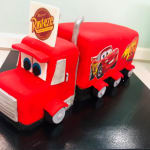 Mac Truck Cake