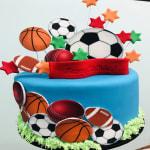 Sports mad Cake