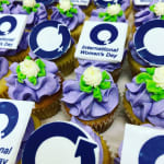 International Womens day Cupcakes sydney