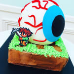 EYEBALL Cake