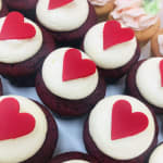 Red Velvet & Valentines day Cupcakes sydney