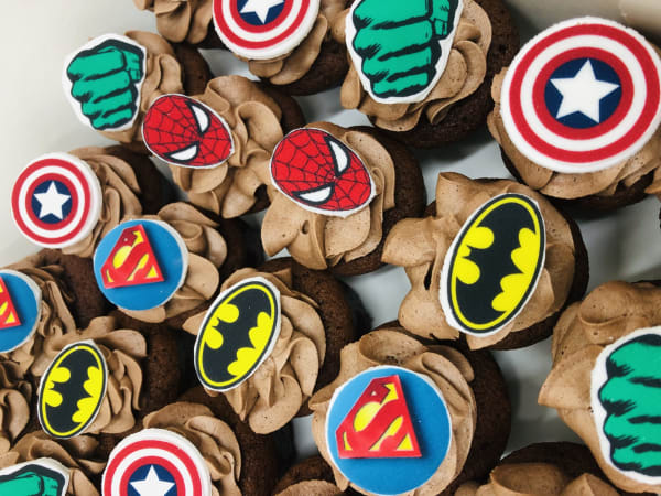 Superhero Cupcakes sydney